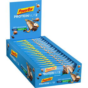 PowerBar Protein Nut 2 Bar Box 18x2 x 22,5g, Milk Chocolate Hazelnut